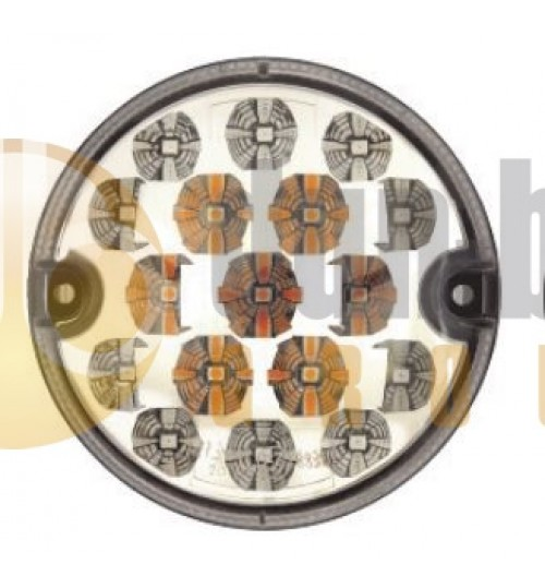 Round LED Indicator and Position Lamp 386 004