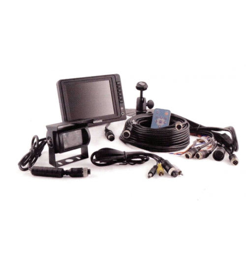 5 Inch  TFT LCD Colour CCTV Kit  with Speakers BV750