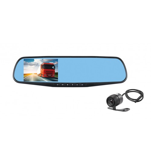 HD Dual Camera Mirror - Journey Recorder JR2
