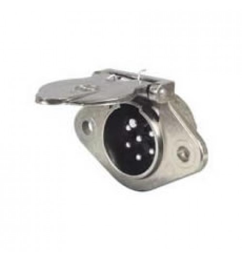 7 Pin Metal Trailer Clang Socket 047716