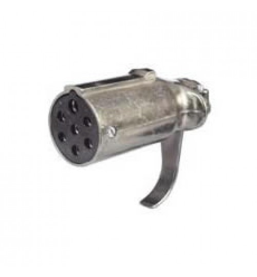 7 Pin Metal Trailer Clang Plug 047719