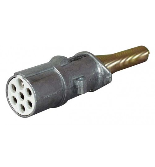 Alloy 7 Pin Plug 24S  047799
