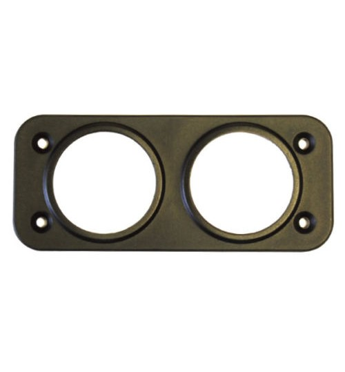 Front Panel Mount 2 hole 28mm 060157