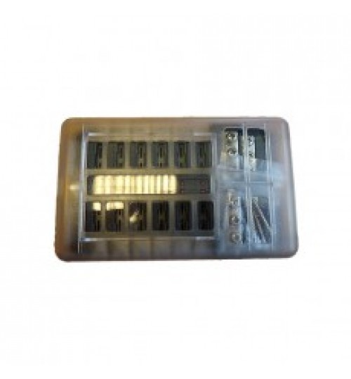 12 way LED Fuse Holder and Bus Bar 023482