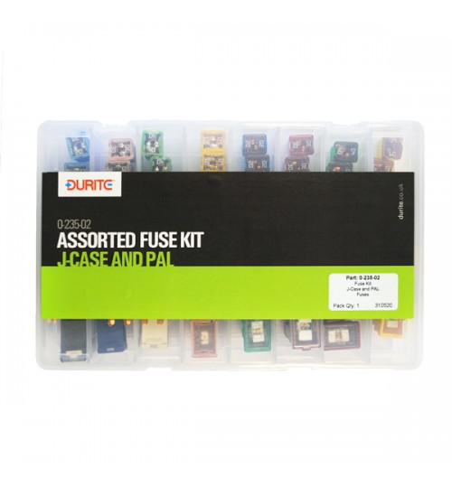 Assorted J Case and PAL Fuse Kit 023502