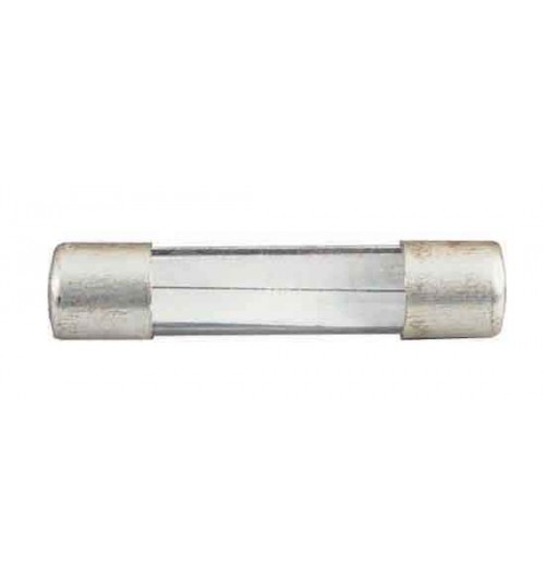 25mm Flat Ended Glass Fuse 1 Amp   035402