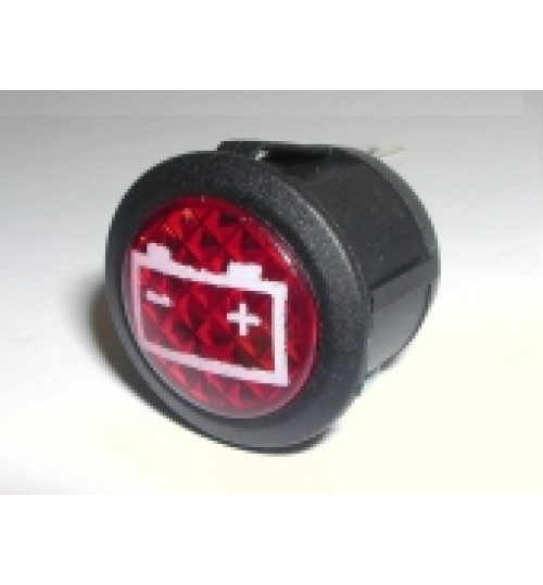 Battery Warning Light LED  EX764 Battery