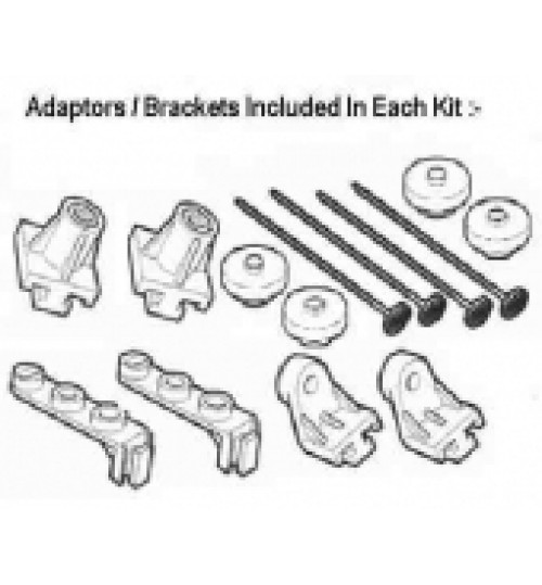 Fitting Kit for Radiator Fans 38001
