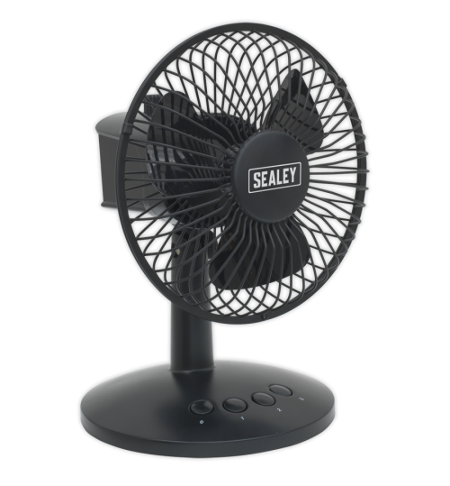 6 Inch 3 Speed Oscillating Fan SFF6USB