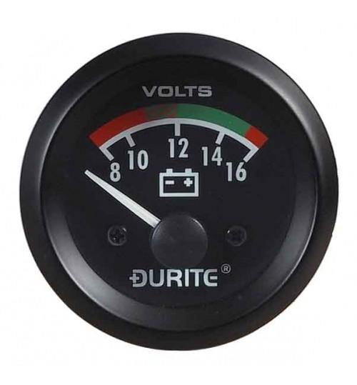12V Battery Con Voltmeter 052322