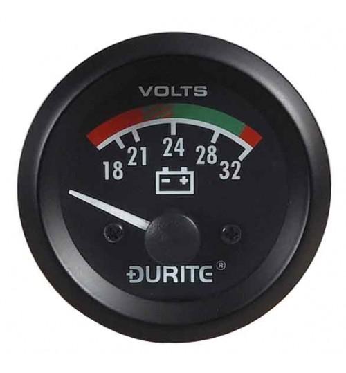 24V Battery Con Voltmeter 052372