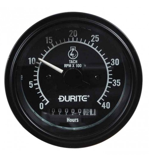 Tachometer plus Hour Meter 052378