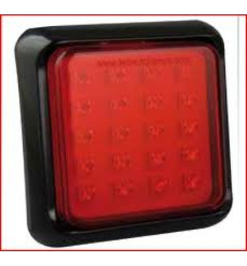 Square Rear Fog Lamp 100FME