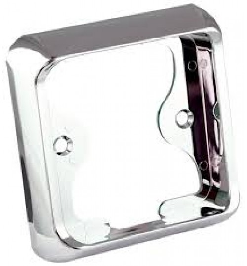 125 Series Chrome Single Bracket 125B1C