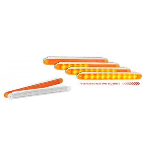 235 Series Clear Lens Dynamic Indicator Lamp 235AC24DI