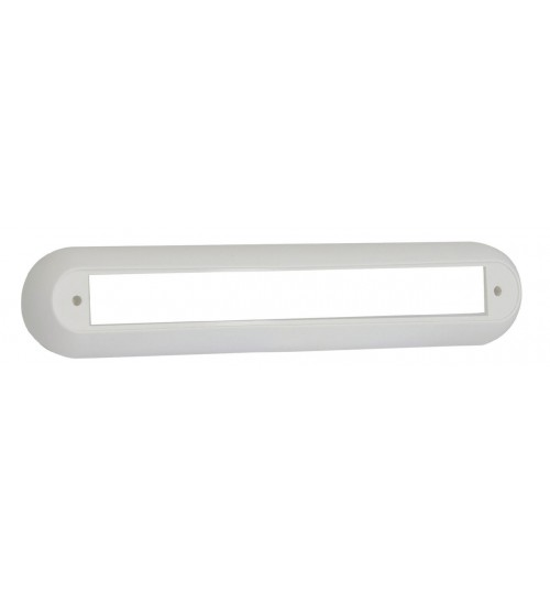 235 Series White Single Bracket 235W1B