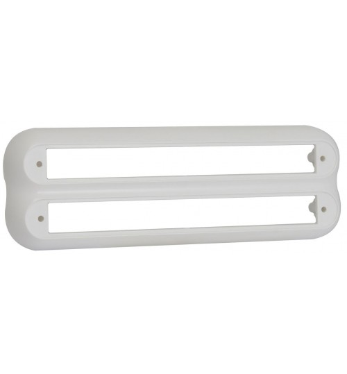 235 Series White Double Bracket 235W2B