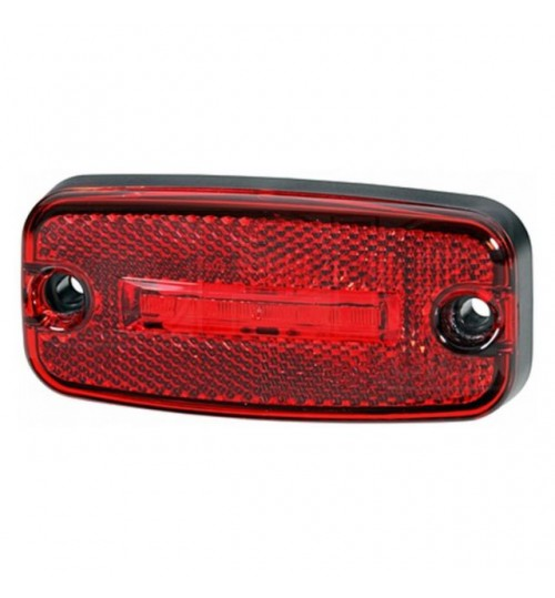 24V LED Rear Marker Lamp  - Red - 2TM345600317