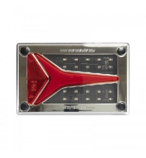 595 Series Compact Rear Combination Lamp with Dynamic Indicator 595STIMR