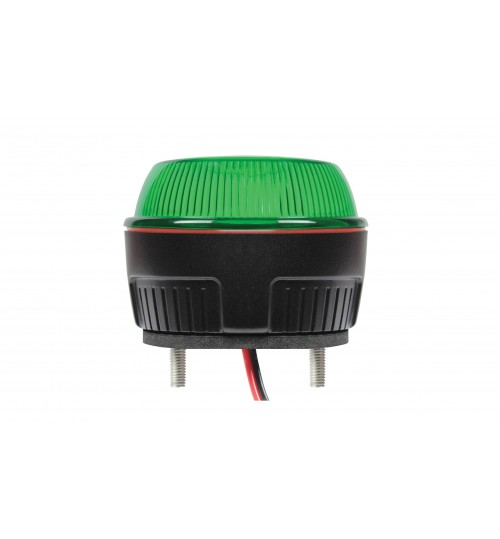 2 Bolt Fixing R10 LED Beacon Green  AMB49G