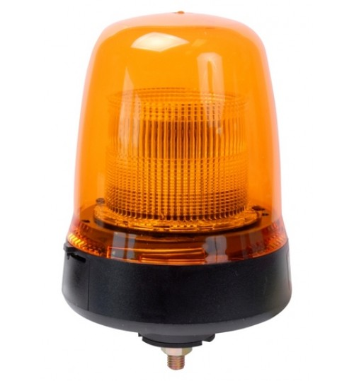 Single Bolt Fixing Amber LED Beacon  B91