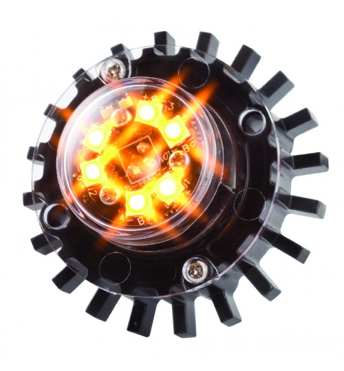 Amber Hideaway LED Warning Lamp HALED6DVA