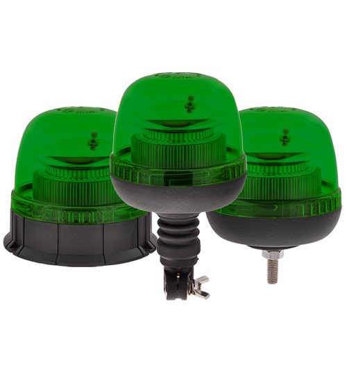 3 Point Fixing LED Green Beacon LTB050G