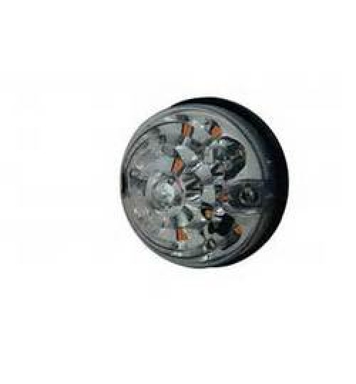 Round Front Clear Indicator S6063LED