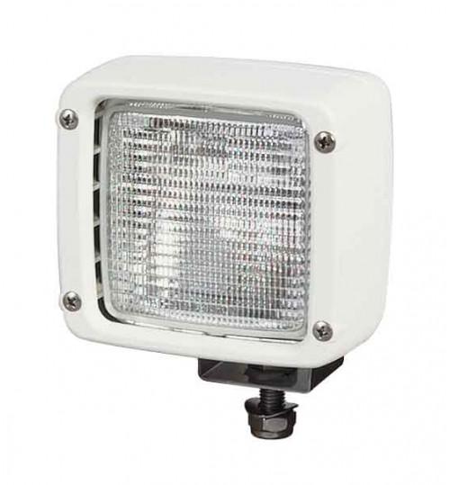 Square White Worklamp  042001