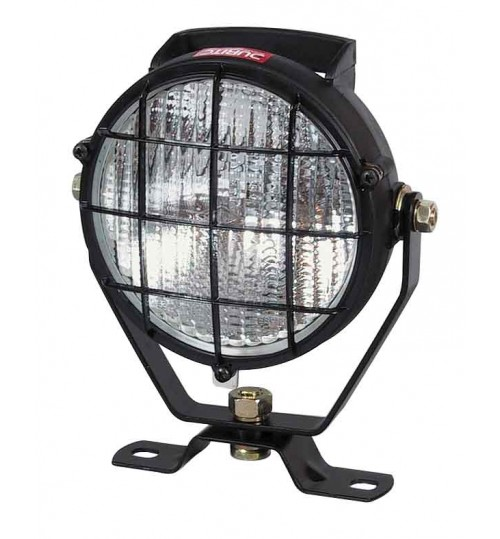Black Worklamp with Grille  053812