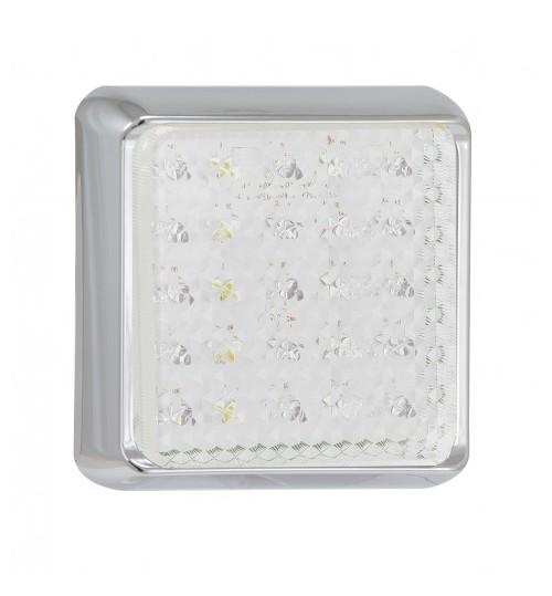Square Reversing Lamp Chrome 100CWME