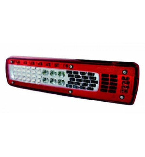 LED Rear Combination Lamp with NPL and Alarm RH 158050