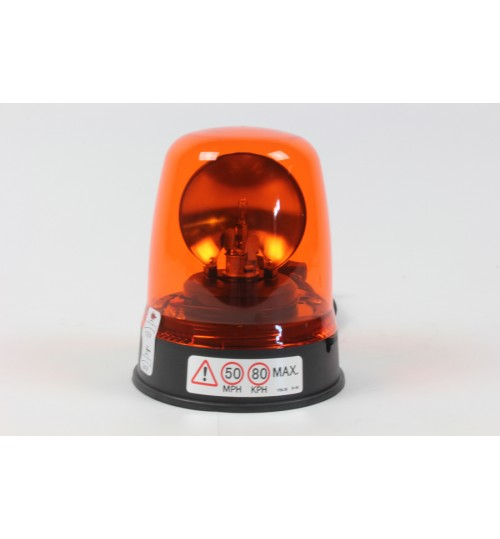 Amber Magnetic Base 12V - 24V Rotating Beacon 394