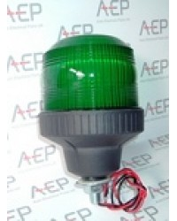 Green 8W Single Pole Mount  Beacon SL40835