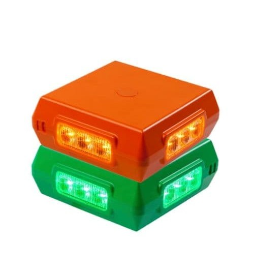 Green and Amber LED Combination Beacon