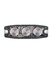 Amber Low Profile LED Warning Light LED10A