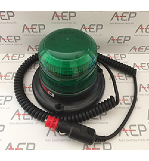 Green 8W Magnetic Mounting Beacon  SL40825