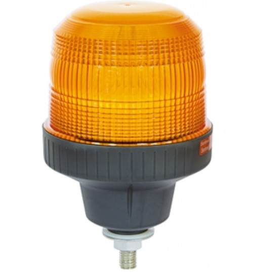 Amber 8W Single Pole Mount  Beacon SL40831