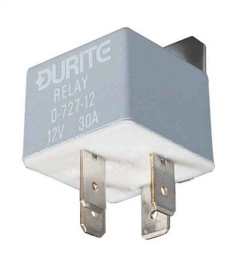 12V 30A Mini Make and Break Relay  072712