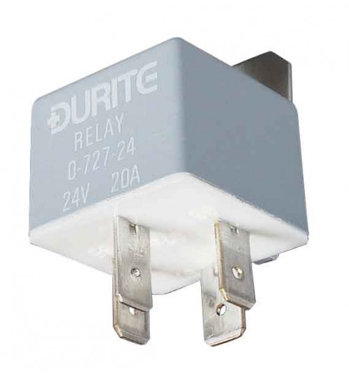 24V 20A Mini Make and Break Relay  072724