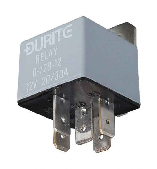 12V Mini Change-Over Relay   072814