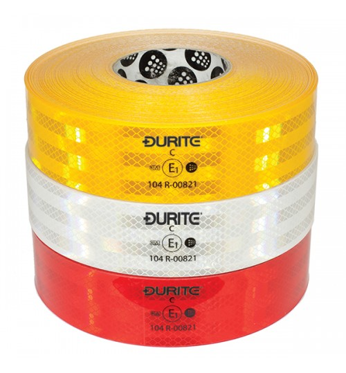High Performance Yellow Reflective Tape 12.5m  055818