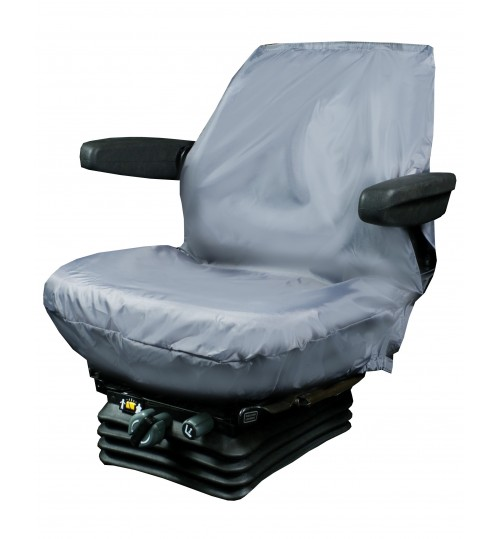 Black Small Tractor or Plant Seat Cover TBLK321