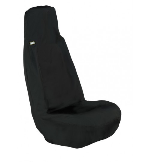 Black Universal Front Seat Cover UFBLK201