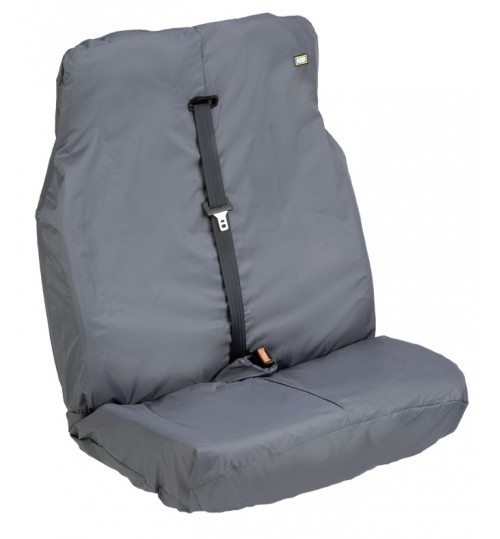 Grey Universal Van Double Seat Cover VGRY294