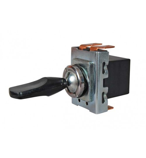 On-off-on, Single Pole with Plastic Lever, 10 Amps   034911