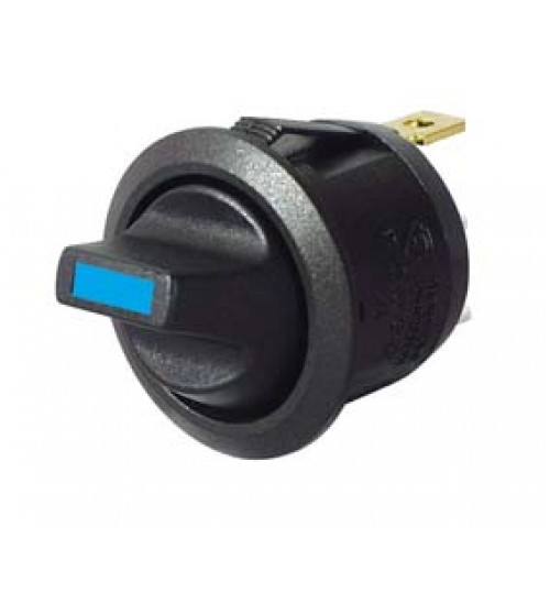 Blue LED, On-off, Single Pole Toggle Switch  053152