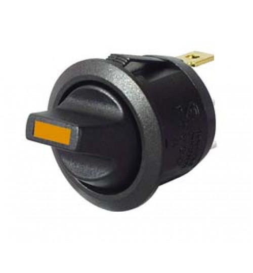 Amber LED, On-off, Single Pole ,Plastic Toggle Switch 053160