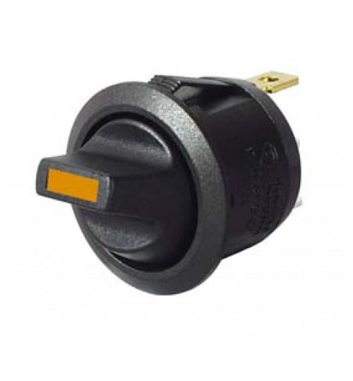 Amber LED, On-off, Single Pole ,Plastic Toggle Switch 053160