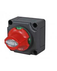 Marine Battery Isolator, Removeable Control Knob  060509